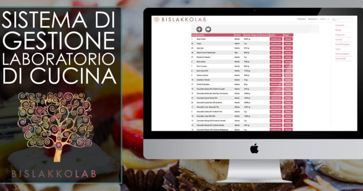 Gestionale e WebApp di cucina