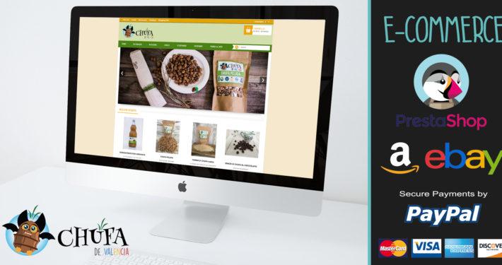 SitoWeb dinamico con E-Commerce Prestashop